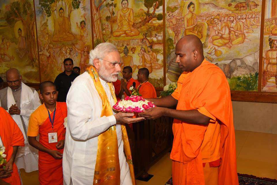 PM Modi in Bodh Gaya, Meditates At Mahabodhi Temple