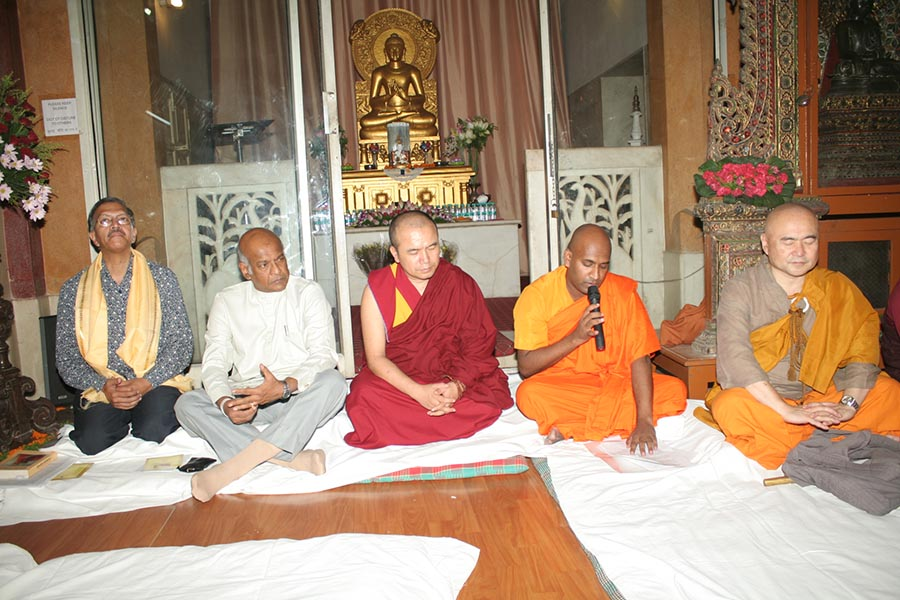 150th Birth anniversary commemoration of the Bodhisattva Anagarika Dharmapala